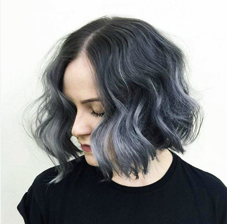 Ombre Wellig Trendy Einfach