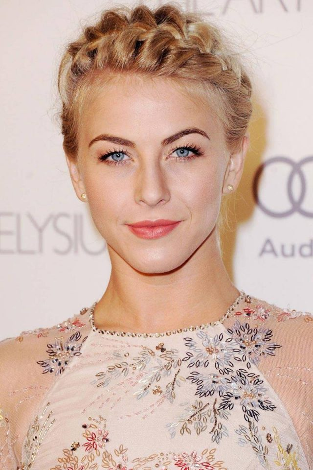 Julianne Hough Crown Braid über