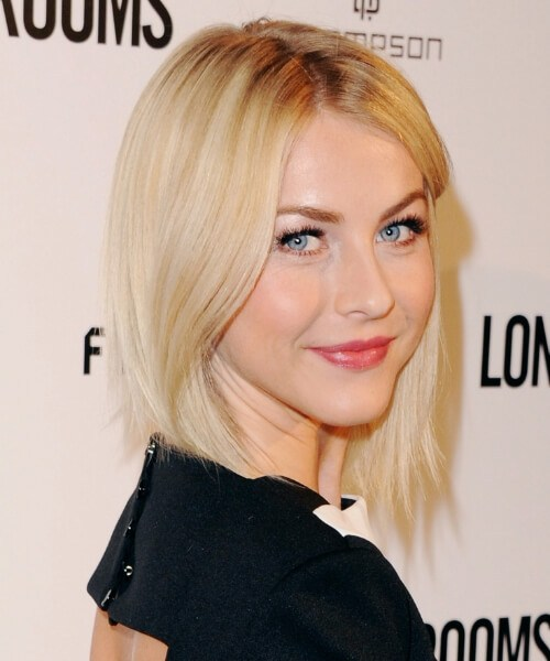 Julianne Hough asymmetrischer Bob