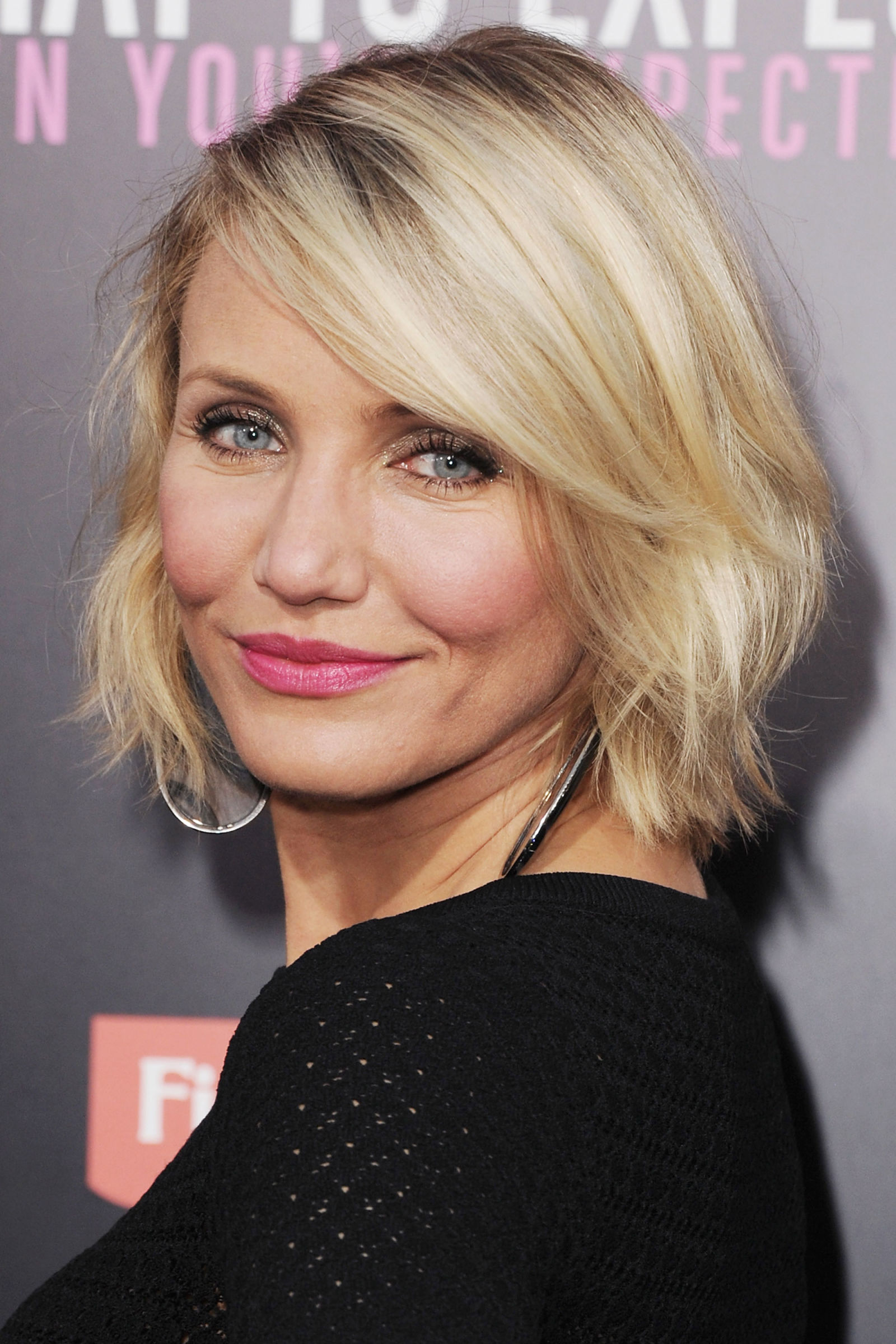 CAMERON DIAZ Celebrity Bob Haircuts 2016