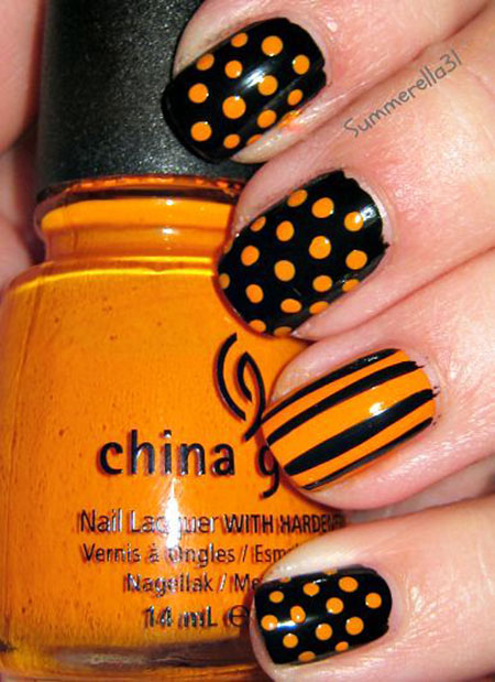 Nail Dot Easy Polka