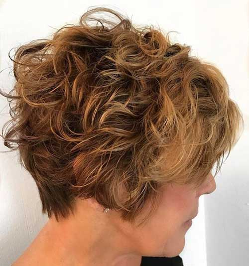 Kurze Curly Hairstyles-19