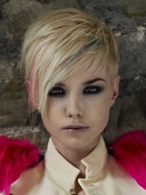 Pixie Cut Blond