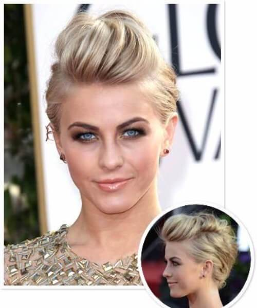 Julianne Hough lange Pixie geschnitten