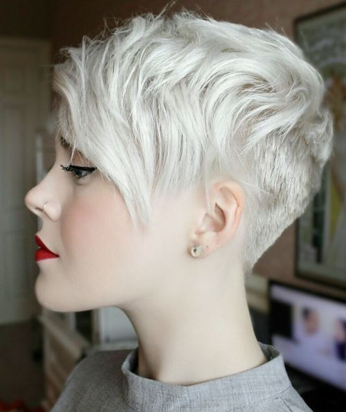 Edgy Short Pixie Cut