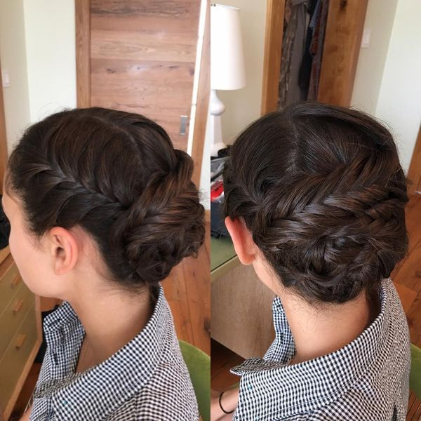 Charming Chignon Low-Do