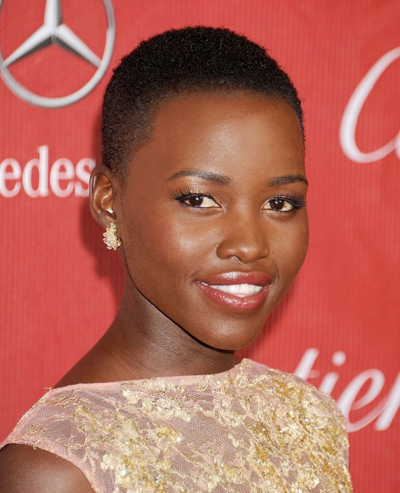 LUPITA NYONG'O buzz cut Frisuren 2018