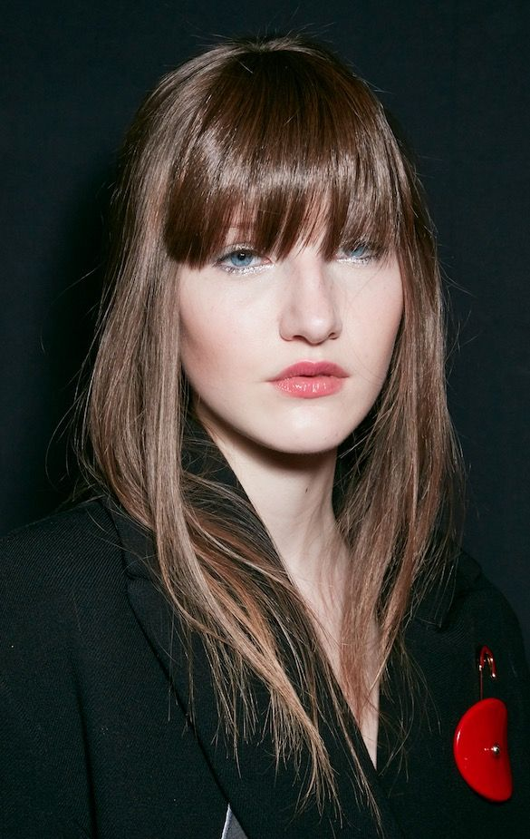 Armani bangs Hair Trends 20148 Frühling Sommer