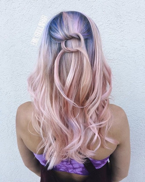 Zuckerwatte-Einhorn von Authentic Hair Army