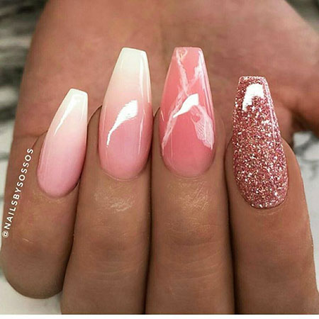 Nails Nail Coffin Designs
